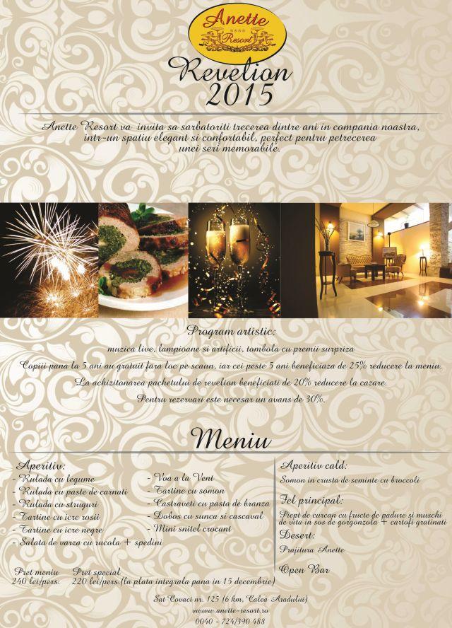 Revelion 2015 la Anette Resort