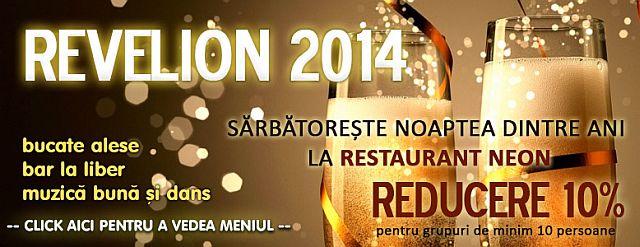 Revelion 2014 la Hotel Neon