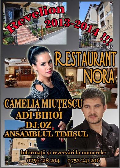 Revelion 2014 la Restaurant Nora